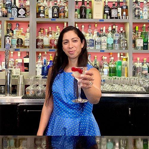 Natasha Bahrami<br /> The Gin Girl
